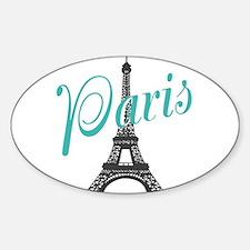 Vintage Paris Eiffel Tower Decal