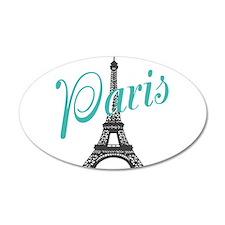 Vintage Paris Eiffel Tower Wall Decal
