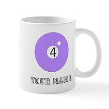 Purple Pool Ball (Custom) Mugs