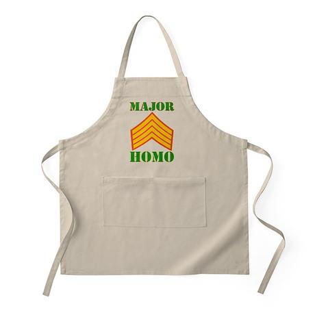 Major Homo BBQ Apron