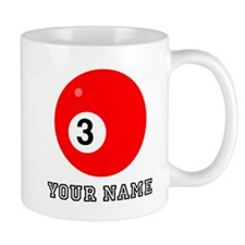 Red Pool Ball (Custom) Mugs