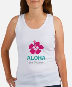 Hawaiian flower Aloha Tank Top
