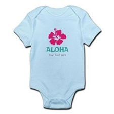 Hawaiian flower Aloha Body Suit