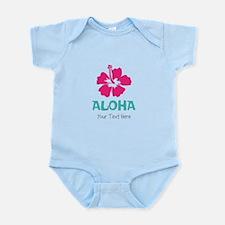 Hawaiian flower Aloha Body Suit