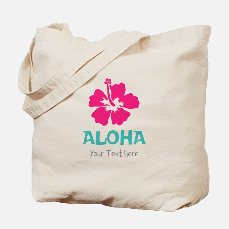 Hawaiian flower Aloha Tote Bag
