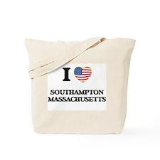 I love Southampton Massachusetts Tote Bag
