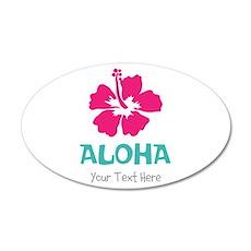Hawaiian flower Aloha Wall Decal