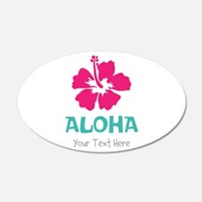 Hawaiian flower Aloha Wall Decal