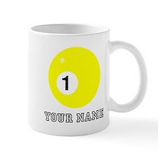 Yellow One Ball (Custom) Mugs