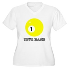 Yellow One Ball (Custom) Plus Size T-Shirt