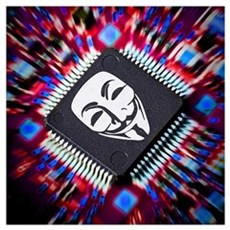 Anonymous inside Poster