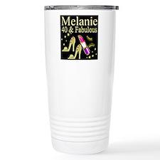 GLAMOROUS 40TH Travel Mug