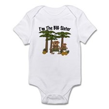 I'm The Big Sister with Little Sister bodysuits