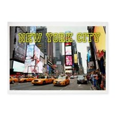 Times Square New York City Pro Phot 5'x7'Area Rug