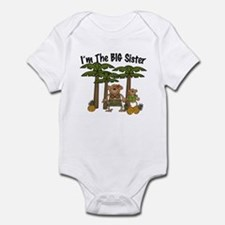 I'm The Big Sister with Little Brother bodysuits
