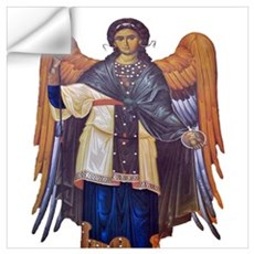 St Michael Wall Decal