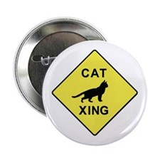 Cat Crossing Button