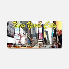 Times Square New York Pro P Aluminum License Plate