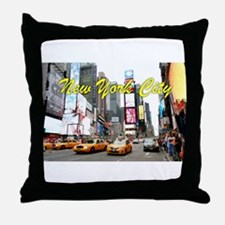 Times Square New York Pro Photo Throw Pillow