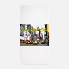 Times Square New York Pro Photo Beach Towel