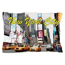 Times Square New York Pro Photo Pillow Case