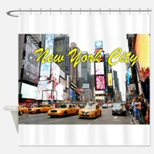 Times Square New York Pro Photo Shower Curtain