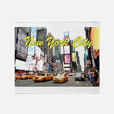 Times Square New York Pro Photo Throw Blanket
