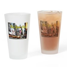 Times Square New York Pro Photo Drinking Glass