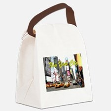 Times Square New York Pro Photo Canvas Lunch Bag