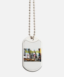 Times Square New York Pro Photo Dog Tags