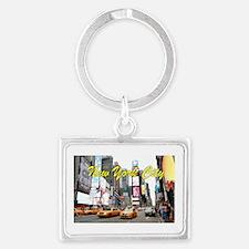 Times Square New York Pro Photo Landscape Keychain