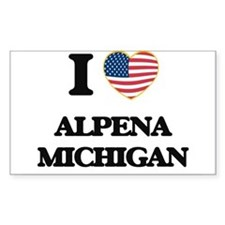 I love Alpena Michigan Decal