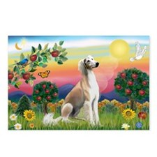 Bright Country with Saluki Postcards (Package of 8