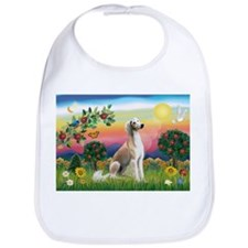 Bright Country with Saluki Bib