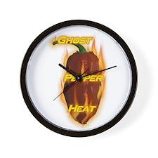 Ghost Pepper Heat Wall Clock