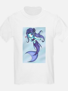 Rainbow Mermaid - Indigo T-Shirt