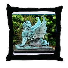 Dragon, art photo, Throw Pillow