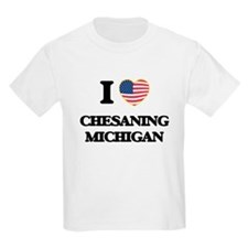 I love Chesaning Michigan T-Shirt