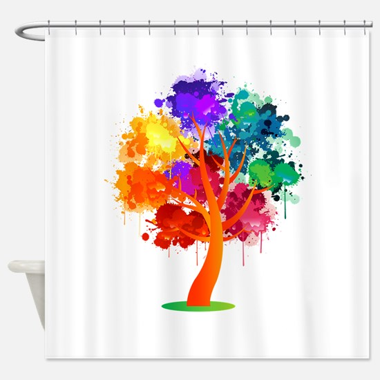 Different Not Less Shower Curtain