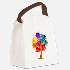 Different Not Less Canvas Lunch Bag