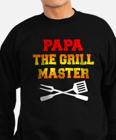 Papa The Grill Master Sweatshirt