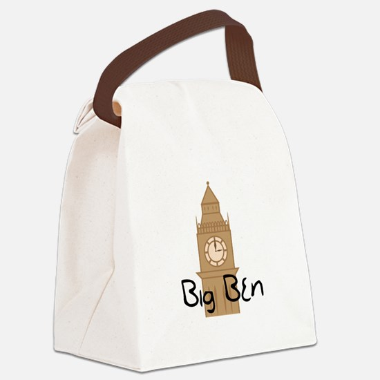 Big Ben 2 Canvas Lunch Bag