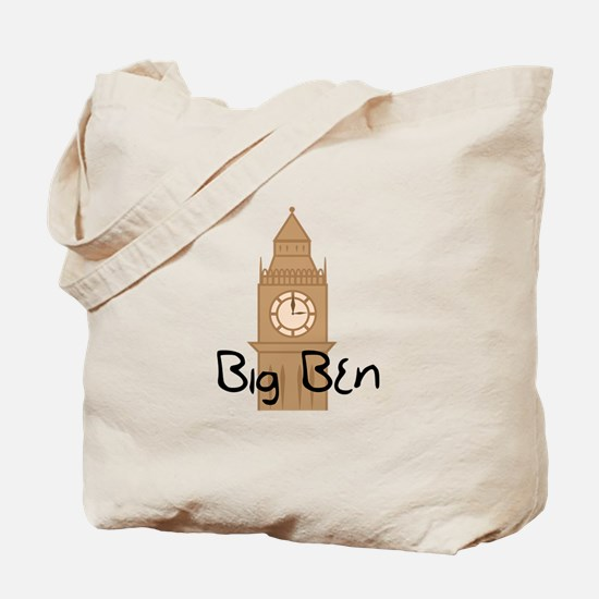 Big Ben 2 Tote Bag