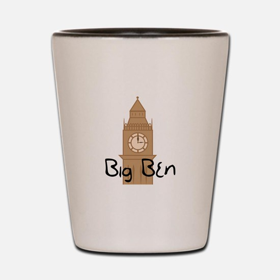 Big Ben 2 Shot Glass
