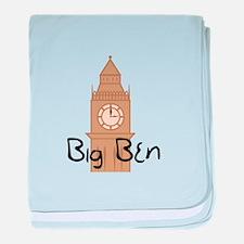 Big Ben 2 baby blanket