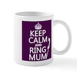 Keep calm and call mum Coffee Mugs