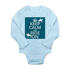 Keep Calm and Ride On Body Suit