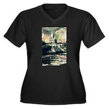 Sacré Coeur Funky Dots Plus Size T-Shirt