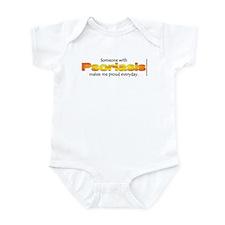 Psoriasis Pride Infant Bodysuit