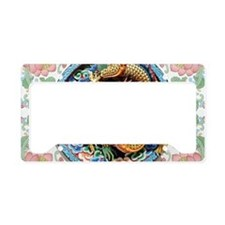 Chinese Dragon License Plate Holder